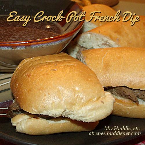 Easy Crock-Pot French Dip
