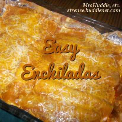Easy Enchilidas