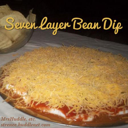 Seven Layer Bean Dip