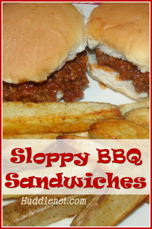 Sloppy BBQ Sandwiches - A quick & delicious meal that is kid-friendly and husband approved.