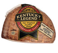 Boneless, smoked, sliced ham by Kentucky Legend