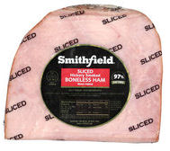 Boneless, smoked, sliced ham by Smithfield